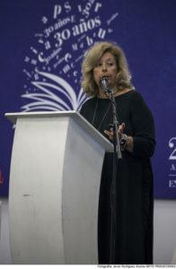 Ana María Cabanellas inauguró el Seminario hablando sobre derechos reprográficos a nivel mundial.