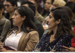Quetzalli de la Concha, Directora de CEMPRO (México) y Magdalena Iraizos, directora ejecutiva CADRA (Argentina).