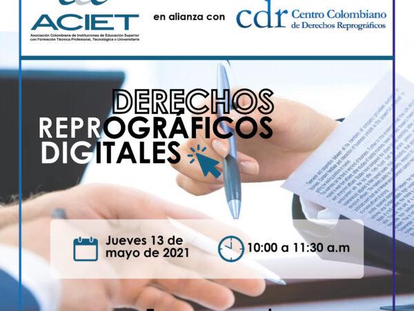 """Webinar """"Derechos Reprográficos Digitales"""""""