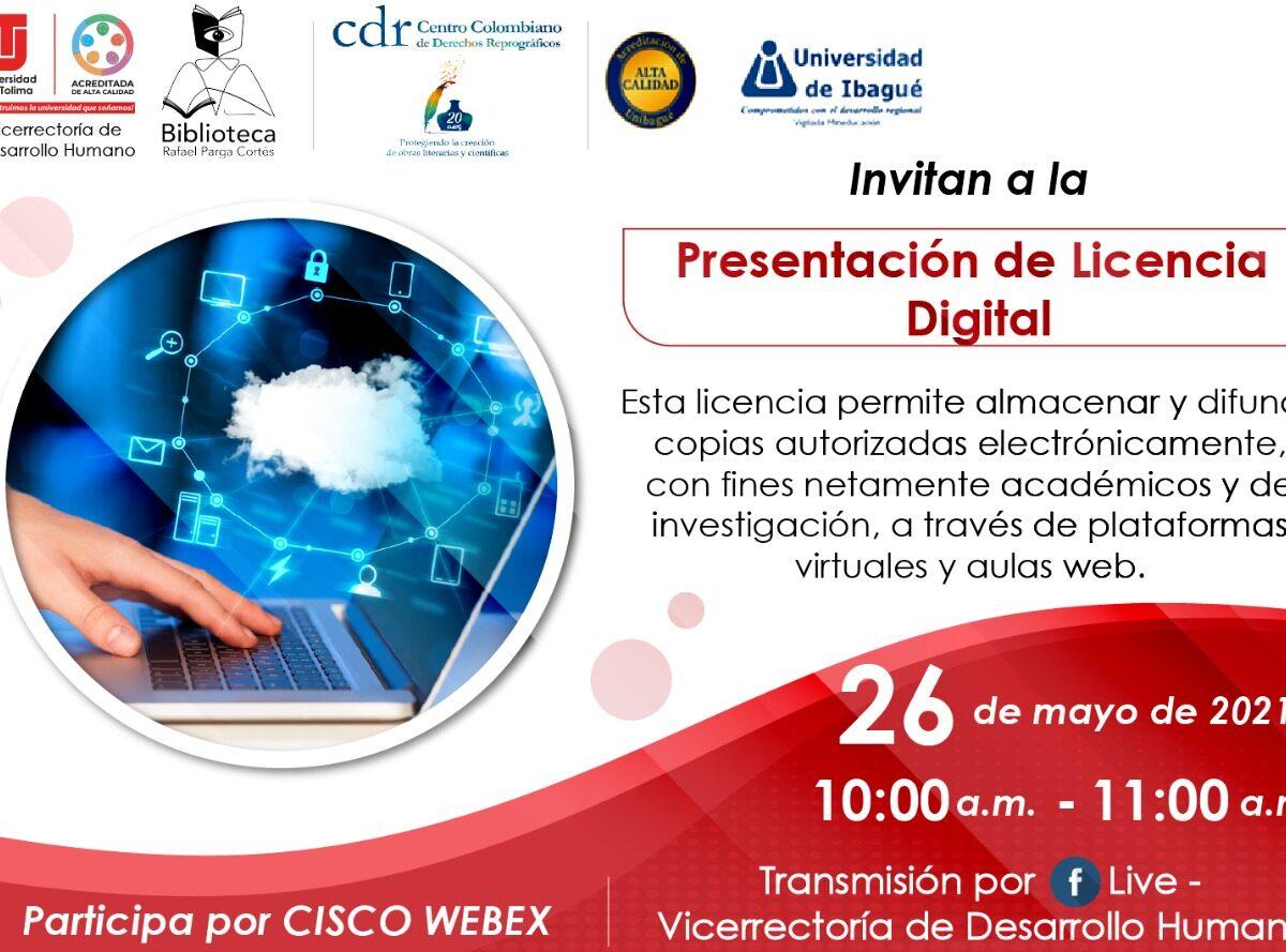 Presentación de la Licencia Digital
